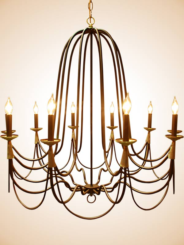 10-arm-handcrafted-chandelier-with-copper-wrap