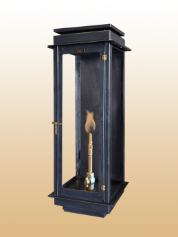 The Manhattan Flush Mount Lantern