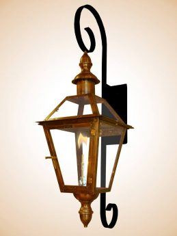 Bourbon St. Chartres Scroll with Decorative Finials