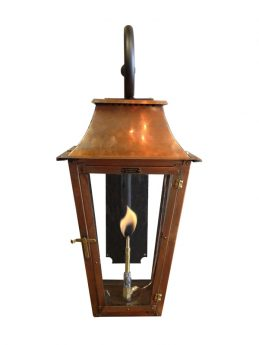 Treme Lantern with Scroll Bracket