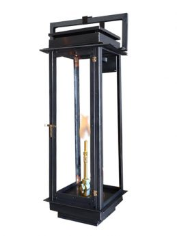 The Manhattan Wall Mounted Square Yoke Lantern
